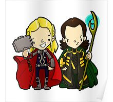 The brothers from Asgard Poster