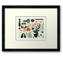 Hannibal Icons Framed Print