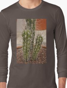 Ouch 4 Cactus Long Sleeve T-Shirt