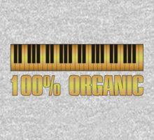 100 organic gold One Piece - Short Sleeve