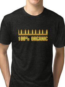 100 organic gold Tri-blend T-Shirt