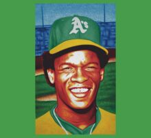 Rickey Henderson is the best Rickey Henderson by JMCSharpieArt