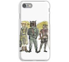 Steampunk Justice Revolution Clan iPhone Case/Skin