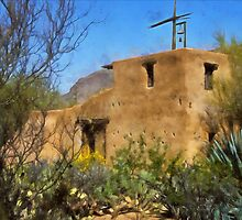 DeGrazia Chapel, Tucson, Arizona by Linda Gregory