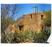 DeGrazia Chapel, Tucson, Arizona Poster