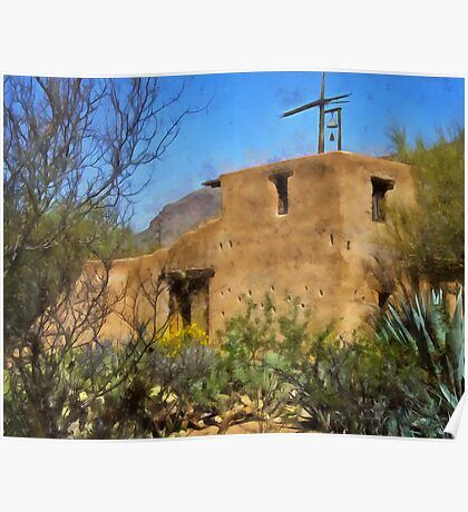 DeGrazia Chapel, Tucson, Arizona Poster