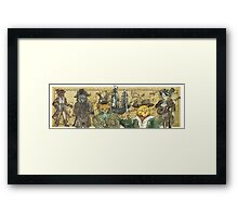 Piarte Cats!! Framed Print
