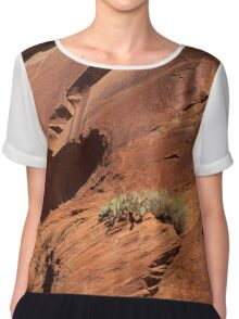 In The Rock Life Will Come Chiffon Top