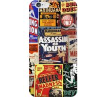 Reefer Madness Propaganda iPhone Case/Skin
