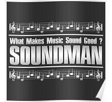 Good Soundman Silver Poster