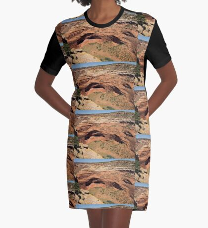 In The Shelter Of The Wind I Will Build My Home Graphic T-Shirt Dress