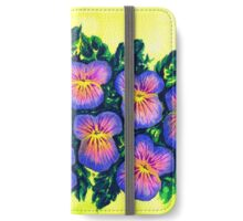 Pansies iPhone Wallet/Case/Skin