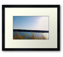 FINGER LAKES CAYUGA LAKE Framed Print