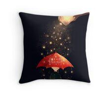 Jar of Starlight V2 Throw Pillow