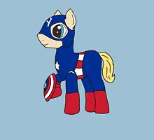 Pony America!  Womens Fitted T-Shirt