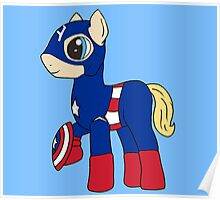 Pony America!  Poster