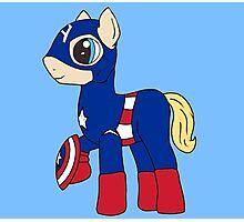 Pony America!  Photographic Print