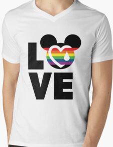 LOVE FOR ORLAND Mens V-Neck T-Shirt