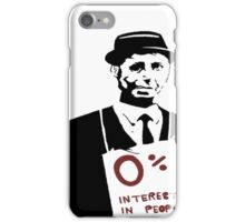 Bansky Fan Art 0 Interest iPhone Case/Skin