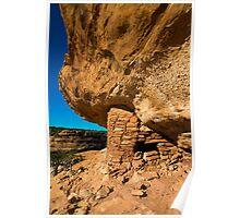 Anasazi Citadel Ruin - Cedar Mesa - Utah Poster