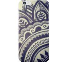 Beautiful Henna Hippie Flower iPhone Case/Skin