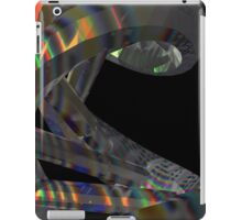 Hologram Effect DNA Molecule iPad Case/Skin