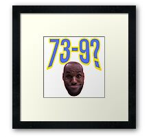 Lebron James Cleveland Cavaliers Funny 2016 Framed Print