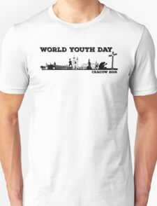 World Youth Day Cracow 2016 Unisex T-Shirt