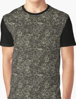 Space Pattern by Vixtopher Graphic T-Shirt