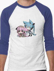 Cute Cat Girls Men's Baseball ¾ T-Shirt