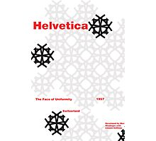 Helvetica Poster 1 Photographic Print
