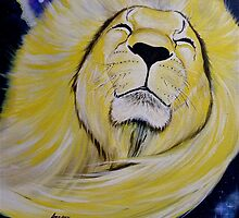 Galatic Lion by Aaron McKenzie