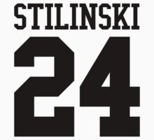 Teen Wolf Stilinski 24 (Black) by jackalis
