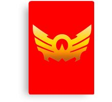 MegaForce Sky Symbol Canvas Print