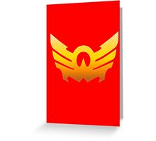 MegaForce Sky Symbol Greeting Card