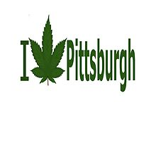 I Love Pittsburg by Ganjastan