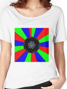 Colorful rays Women's Relaxed Fit T-Shirt