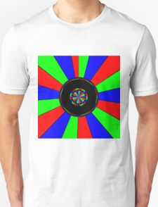 Colorful rays Unisex T-Shirt
