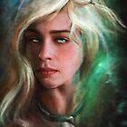 Daenerys by nicolealesart