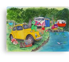 Taxi Bug's Fishing Camp Canvas Print