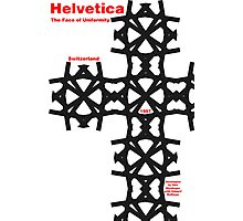 Helvetica Poster 2 Photographic Print