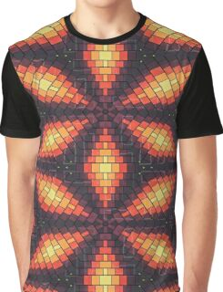 Bricks flower Graphic T-Shirt