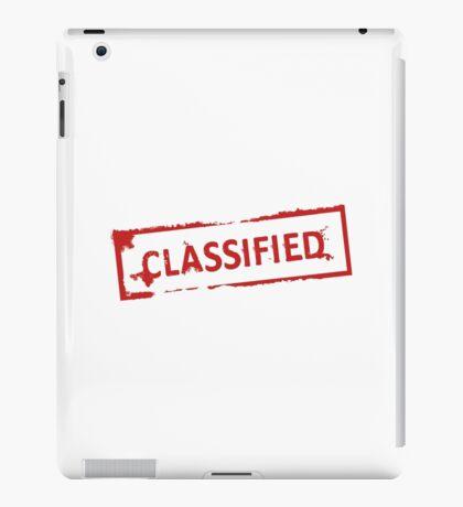 Classified Stamp iPad Case/Skin