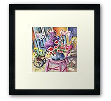 Welcome to Sicily Framed Print