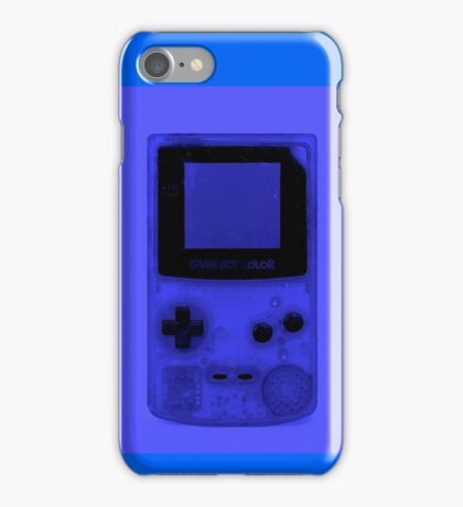 Gameboy Colour-Blue iPhone Case/Skin