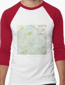 Marbling Designs Men's Baseball ¾ T-Shirt