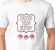 Pokémon - Choose Your Destiny Unisex T-Shirt