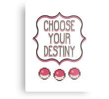 Pokémon - Choose Your Destiny Metal Print