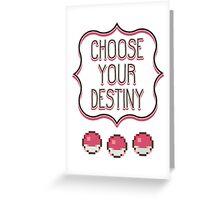 Pokémon - Choose Your Destiny Greeting Card