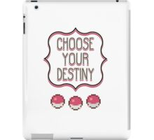 Pokémon - Choose Your Destiny iPad Case/Skin